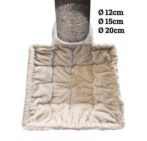 Hängematte Luxury Sleeper SQUARE XL 45cm Cream