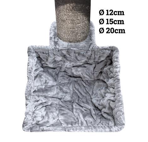 Hängematte Luxury Sleeper SQUARE XL 45cm Grey