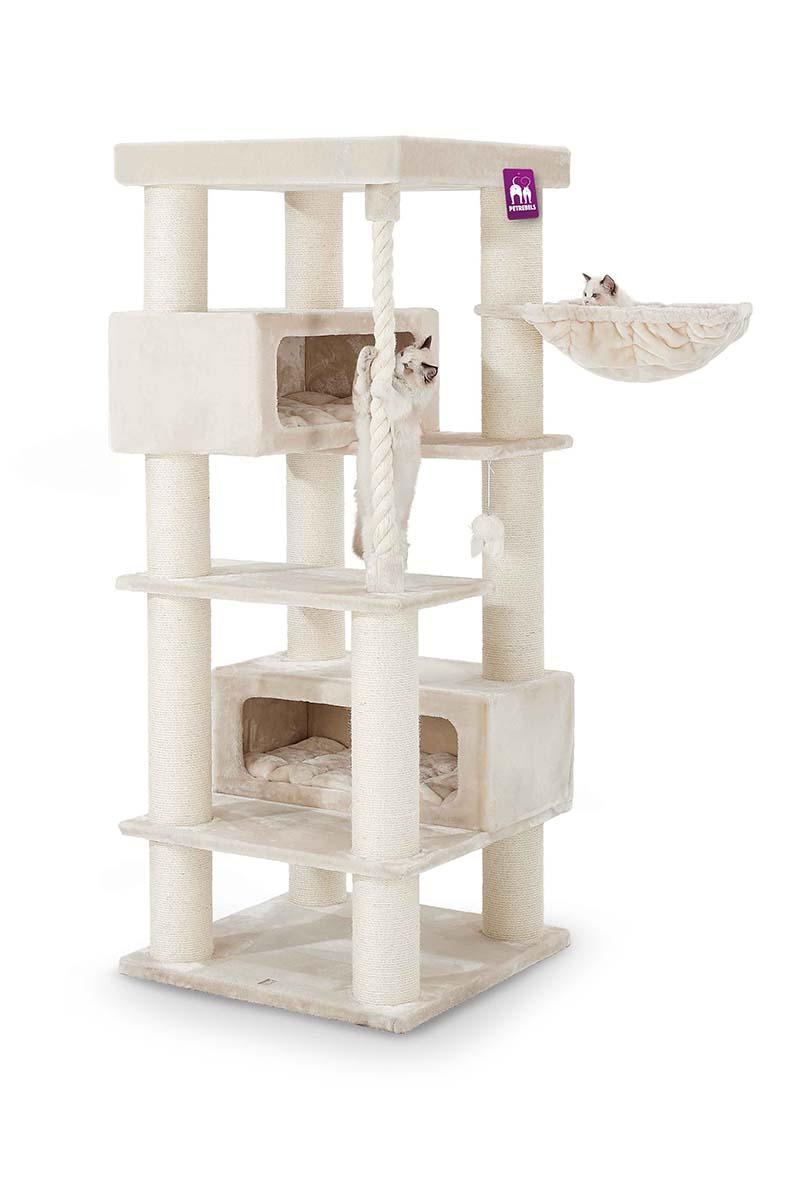 Cat tree Turnpike 190 Cream