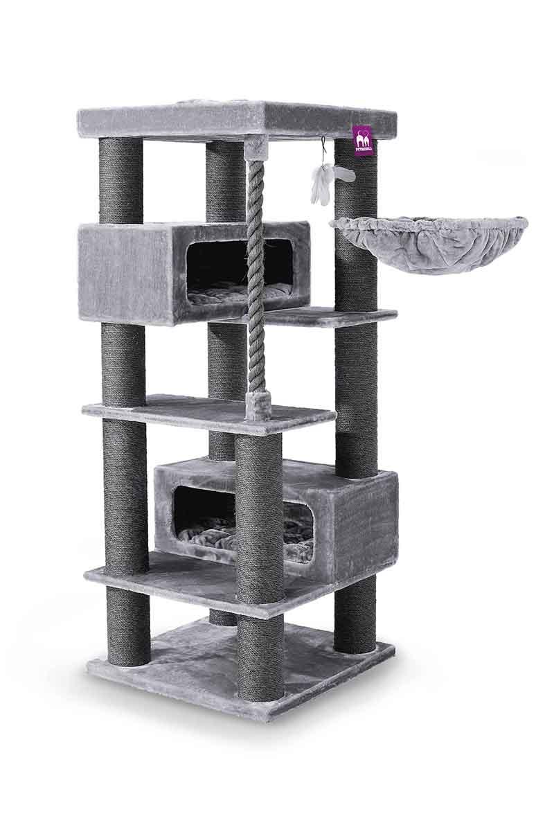 Cat tree Turnpike 190 Grey