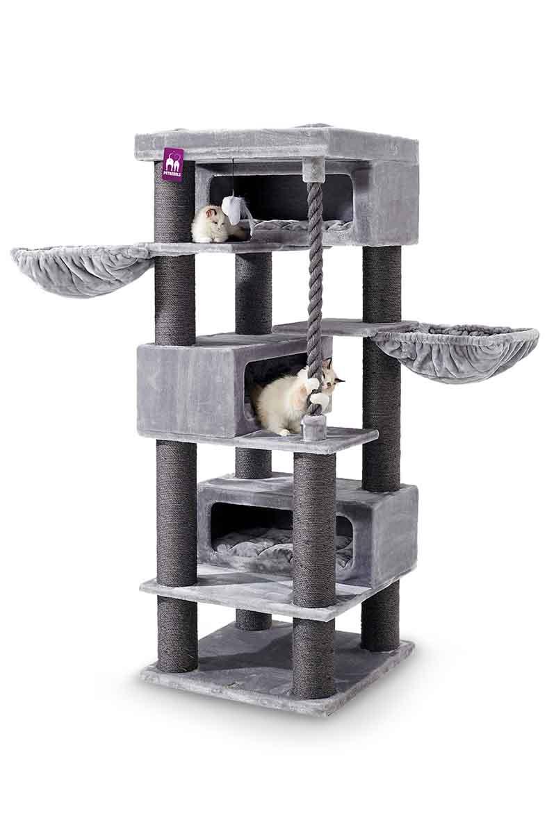 Cat tree Turnpike 200 Grey